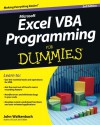 Excel VBA Programming For Dummies - John Walkenbach