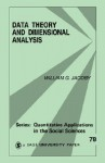 Data Theory and Dimensional Analysis - William G. Jacoby, Michael Lewis-Beck