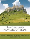 Rangers and pioneers of Texas - Andrew Jackson