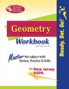 Geometry Workbook NJ-HSPA (Rea) - Ready, Set, Go! - Mel Friedman, Geometry Study Gudies
