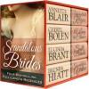 Scandalous Brides (Four Bestselling Full-Length Regency Novels) - Annette Blair, Cheryl Bolen, Lucinda Brant, Brenda Hiatt