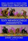 Testy Niewidocznego Uniwersytetu: Księga zagadek ze Świata Dysku Terry'ego Pratchetta - David Langford