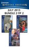 Harlequin Special Edition July 2013 - Bundle 2 of 2: The Widow of Conard CountyA Match for the Single DadThe Medic's Homecoming - Rachel Lee, Gina Wilkins, Lynne Marshall