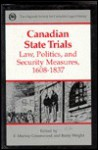 Canadian State Trials - F. Murray Greenwood, Barry Wright