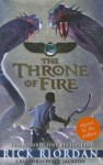 Throne of Fire 2 Signed Edition (Kane Chronicles) - Rick Riordan