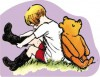 Christopher Robin and Pooh Giant Board Book - A.A. Milne, Ernest H. Shepard