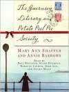 The Guernsey Literary and Potato Peel Pie Society: A Novel (Audio) - Mary Ann Shaffer, Annie Barrows
