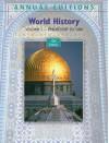 Annual Editions: World History, Volume 1: Prehistory to 1500, 10/e - Joseph Mitchell, Helen Buss Mitchell