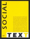 Social Text (Special Issue of Social Text, Nos. 1-2) - Hilary Rose, Andrew Rosss