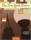 The New York Times Crossword Puzzle Omnibus, Volume 1 (NY Times) - Will Weng