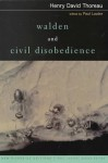 Walden and Civil Disobedience (New Riverside Editions) - Henry David Thoreau