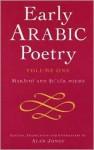 Early Arabic Poetry Volume 1: Marathi and Su'luk Poems - Alan Jones