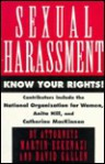 Sexual Harassment: Know Your Rights - Eskenazi & Gallen, David Gallen, Martin Eskenazi, Michele A. Palud