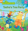 Tasha's Tea Party: A Lift-the-Flap Board Book (The Backyardigans) - Nancy Parent, David A. Cutting