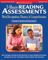 3-Minute Reading Assessments: Word Recognition, Fluency, and Comprehension: Grades 5-8 - Timothy V. Rasinski, Nancy Padak