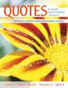 Quotes To Inspire Great Reading Teachers: A Reflective Tool For Advancing Students' Literacy - Cathy Collins Block, Susan E. Israel