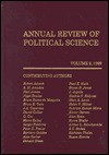 Annual Review of Political Science, Volume 2: 1999 - Nelson W. Polsby