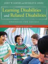 Learning Disabilities and Related Disabilities: Strategies for Success - Janet W Lerner