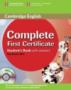 Complete First Certificate Student's Book with answers with CD-ROM - Guy Brook-Hart