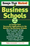 Essays That Worked for Business Schools (Revised) - Boykin Curry, Brian Kasbar, Emily Angel Baer