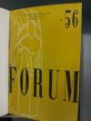 Forum Literary Magazine (Fall, 1956) - Emilio Sanchez, Jack Loscutoff, E. Edward Emig, Annette Legras, Jim Babcock, Joseph M. Cronin, Carol A.Harris, Lester B. Marshall, Alton Tanner, Richard Warr, William E. Whitney, Herbert Wong, F.H. Stivender Jr., Daimar F. Paddock, Edward McPherson, Robert Lee Whtie, Dor