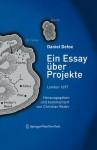 Ein Essay Ber Projekte: London 1697, Herausgegeben Und Kommentiert Von Christian Reder - Daniel Defoe