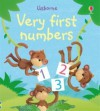 Very first numbers - Usborne