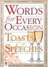 Words for Every Occasion Toasts & Speeches - Books Hinkler
