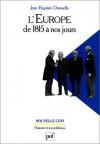 L'Europe de 1815 à nos Jours - Vie politique et relations internationales - Jean-Baptiste Duroselle