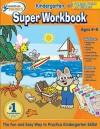 Hooked on Phonics Kindergarten Super Workbook - Hooked on Phonics