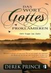 Das Wort Gottes proklamieren - 365 Tage im Jahr (German Edition) - Derek Prince