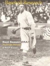 The Baseball Research Journal (BRJ), Volume 25 - Society for American Baseball Research (SABR)