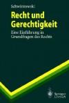 Recht Und Gerechtigkeit: Eine Einfuhrung in Grundfragen Des Rechts - Hans-Peter Schwintowski