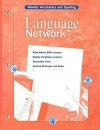Language Network: Weekly Vocabulary and Spelling - McDougal Littell
