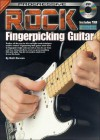 Rock Fingerpicking Guitar Method [With CD] - Brett Duncan