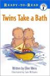 Twins Take A Bath - Ellen Weiss