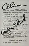 Guignol's Band - Louis-Ferdinand Céline