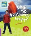 Why Do Volcanoes Erupt? Level 4 Factbook - Nicolas Brasch, Brasch