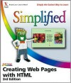 Creating Web Pages with HTML Simplified - Sherry Willard Kinkoph Gunter