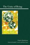 The Unity of Being - Charles Hartshorne, Randall E. Auxier, Hyatt Carter
