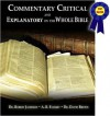 Commentary Critical and Explanatory on the Whole Bible - Robert Jamieson, A.R. Fausset, David Brown