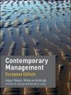 Contemporary Management: European Edition - Jennifer M. George, RJ Jones, Edgar Meyer, Melanie Ashleigh
