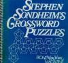 Stephen Sondheim's Crossword Puzzles - Stephen Sondheim