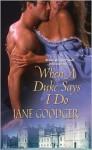 When a Duke Says I Do - Jane Goodger