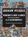 Puzzle: Where's Bin Laden in California? Jigsaw Puzzle - NOT A BOOK