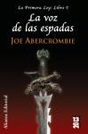 La voz de las espadas - Joe Abercrombie