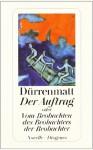 Zlecenie albo O obserwacji obserwatora obserwatorów - Friedrich Dürrenmatt
