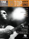 25 Top Acoustic Songs - Tab. Tone. Technique.: Tab+ - Hal Leonard Publishing Company