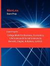 Exam Prep for College Math for Business, Economics, Life Sciences & Social Sciences by Barnett, Ziegler, & Byleen, 11th Ed - Raymond A. Barnett