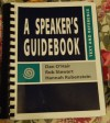 A Speaker's Guidebook - Dan O'Hair, Rob Stewart, Hannah Rubenstein